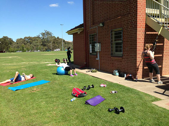 Group fitness adelaide personal training
