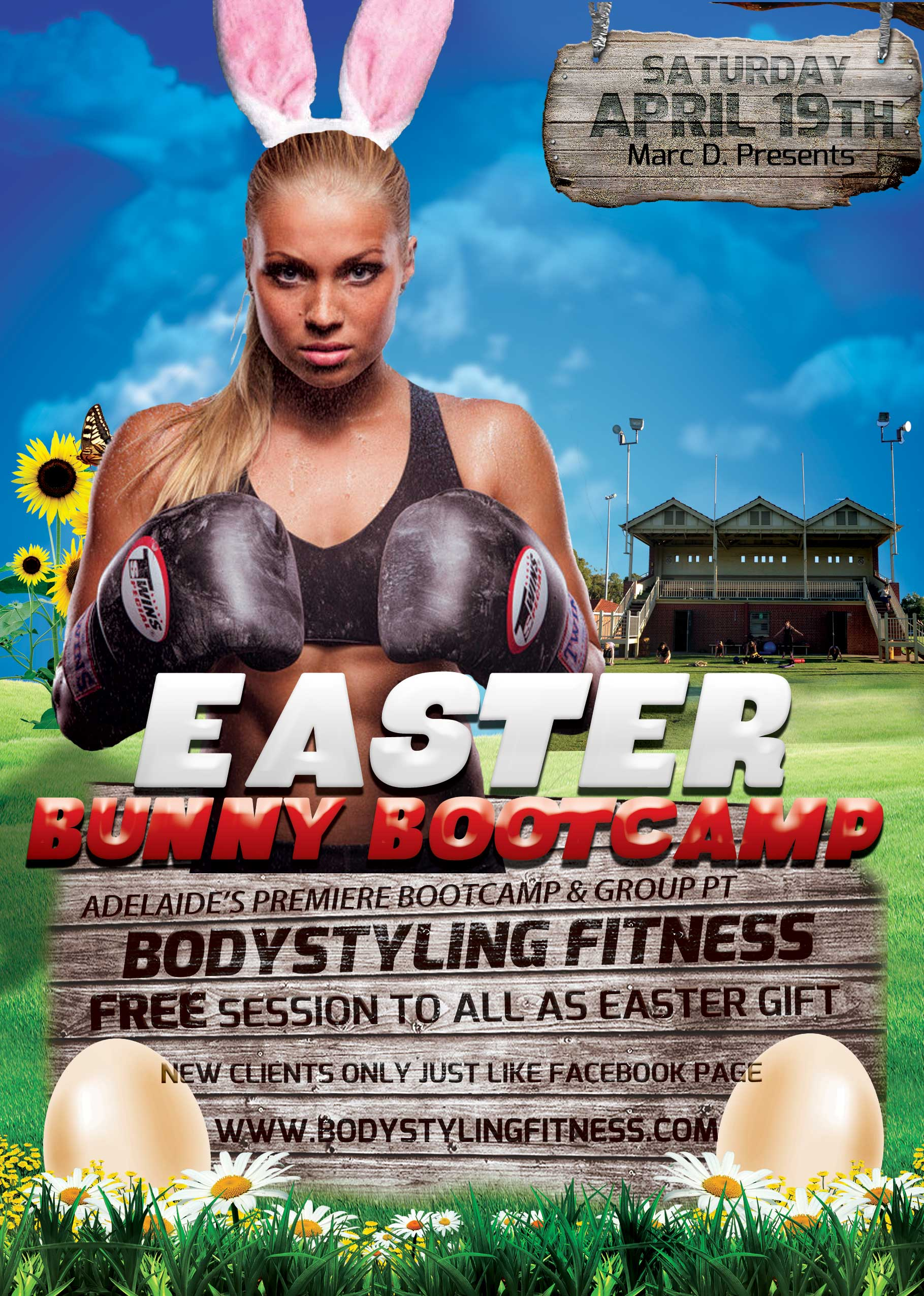 Free saturday easter adelaide bootcamp group pt adelaide personal easter bootcamp special negle Image collections