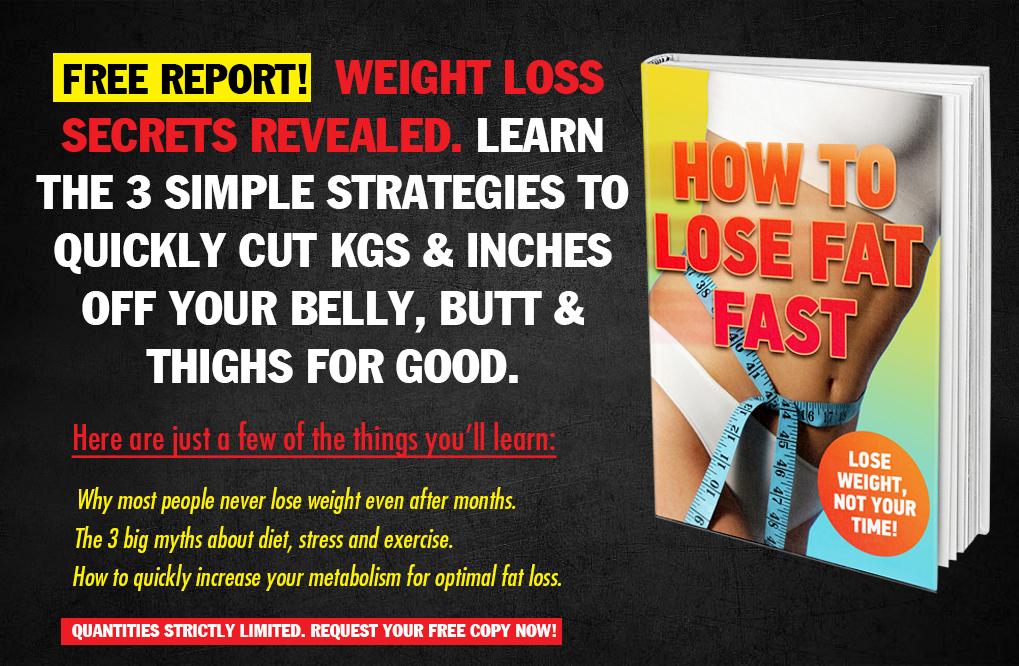 Free Weight Loss Secrets Report