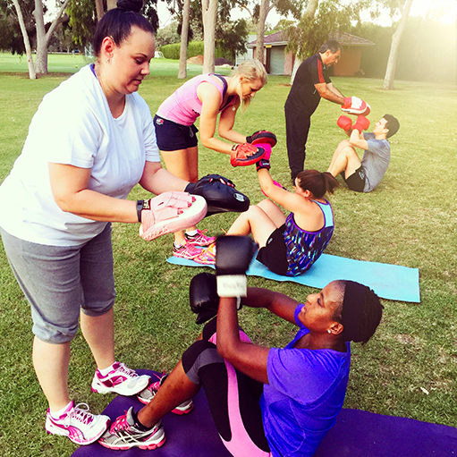 Personal trainer adelaide training